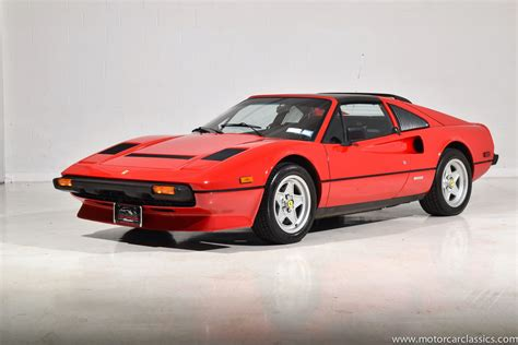 Our value guide is constantly note: Used 1984 Ferrari 308 GTS Quattrovalvole For Sale (Special Pricing) | Motorcar Classics Stock #1628