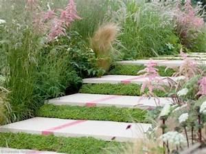 Succulentes Pas Cher : d co jardin de la texture dans un espace ext rieur ~ Melissatoandfro.com Idées de Décoration