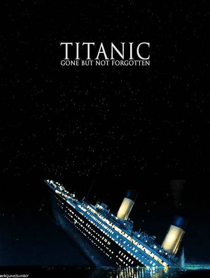 Titanic Animated Sinking Gifs Ship Giphy Film