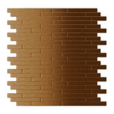 inoxia speedtiles wally 11 88 in x 12 in self adhesive