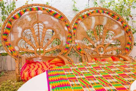 decoration  livoirienne pour  mariage coutumier