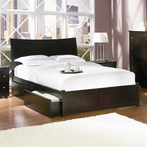 25 sized beds with storage drawers underneath
