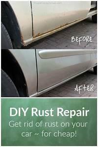 Diy Rust Repair  How To Get Rid Of Rust On Your Car
