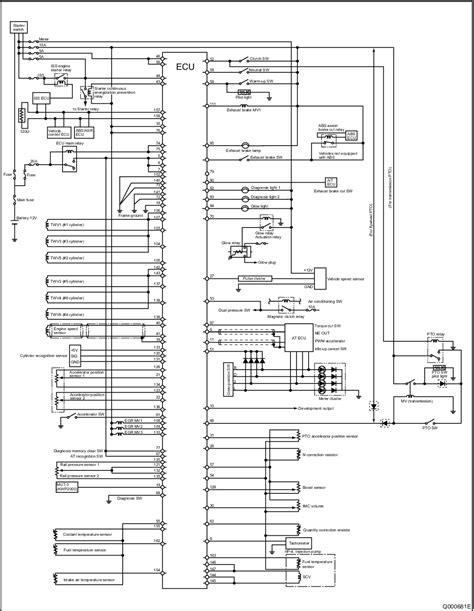 Mitsubishi Truck Wiring Diagram by Mitsubishi Fuso Fighter 6m60 Engine Fault Codes