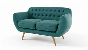 le blog mobiliermoss les canapes en tissu et leurs With canapé 2 places convertible style scandinave