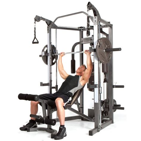 cage cable smith crossover marcy equipment exercise fitness