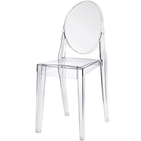 chaises philippe starck chaise ghost starck ghost stackable