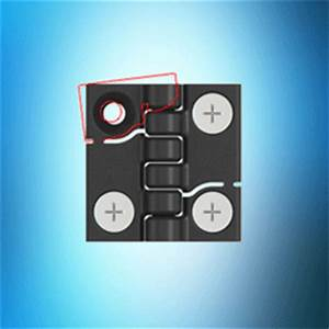 New 1056 Plastic Hinge Features Quick Fit Facility – from EMKA