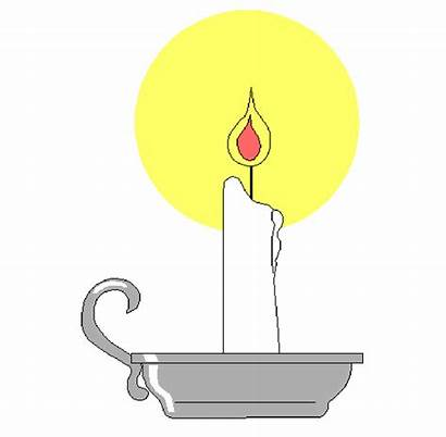 Candle Clipart Clip Flame Candles Memorial Christian