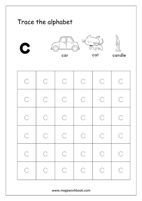free worksheets alphabet tracing small letters