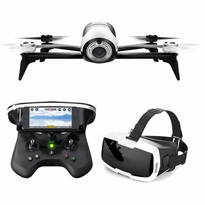 Parrot Fpv Bebop Skycontroller Goggles Drones Cockpit