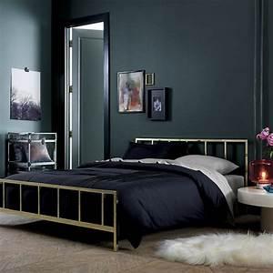 Schlafzimmer In Brauntönen : wandfarbe schwarz 59 beispiele f r gelungene innendesigns fresh ideen f r das interieur ~ Sanjose-hotels-ca.com Haus und Dekorationen