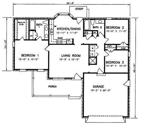 house 8140 blueprint details floor plans