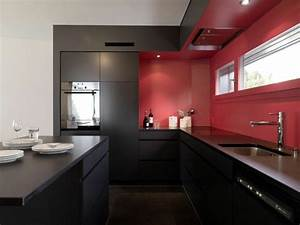 cocinas en rojo treinta y ocho disenos ardientes With kitchen cabinet trends 2018 combined with led wall art home decor