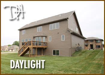 what is a daylight basement walkout lots vs daylight lots vs standard lots homes