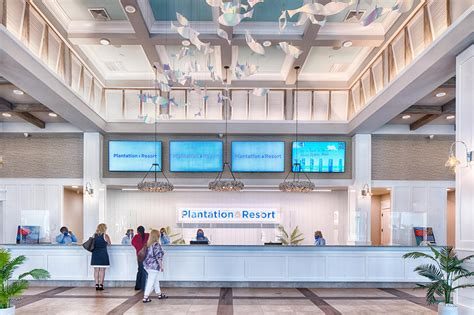 New Front Desk - Plantation Resort