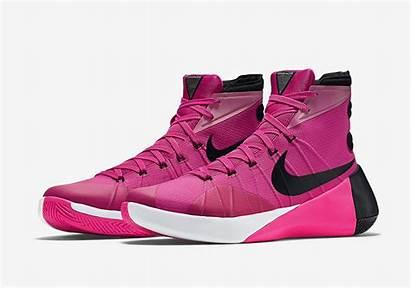 Nike Hyperdunk Pink Think Basketball Detailed Shoe