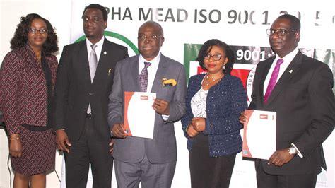 bureau veritas nigeria alpha mead amf earn global best practices certification
