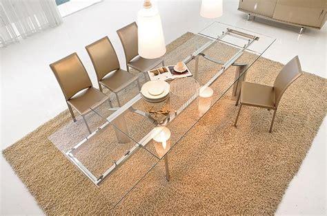 table salle a manger en verre design mailleux table de salle 224 manger design en verre photo 15 20 une table en verre