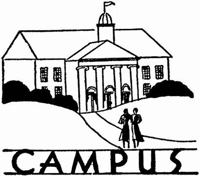 College Clipart Campus Students Clip Graphics Clipartpanda