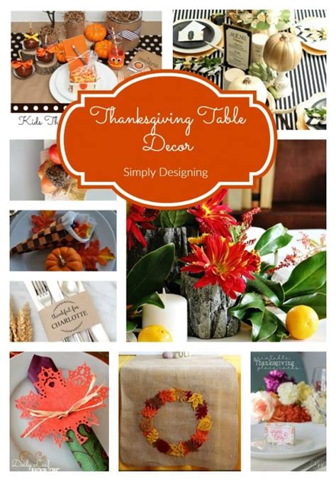 thanksgiving table decor easy as easy thanksgiving table decor