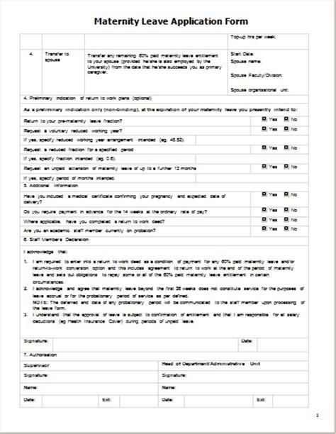 leave application form 28 images leave application