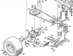 34 Craftsman Ys4500 Deck Belt Diagram