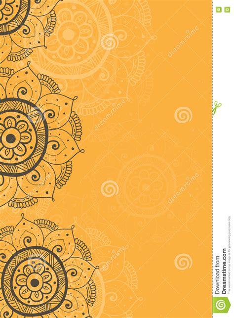 Pin amazing png images that you like. Ethnic Invitation Card Yellow Background Stock Illustration - Illustration of angle, cartoon ...