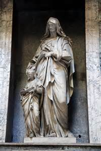 Statue Pantheon Rome Interior
