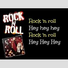 Rock N Roll  Avril Lavigne  Lyrics On Screen Youtube