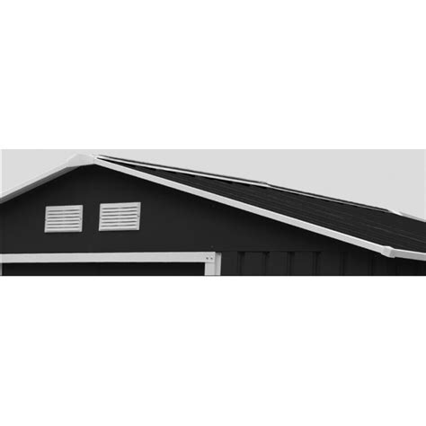gartenhaus metall anthrazit gartenhaus aus metall 7 06m 178 plus anthrazit verankerungskit x metal