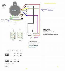 5 Hp Electric Motor Single Phase Wiring Diagram Download