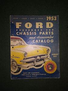 Old Ford Shop Manual   1949 50 51 For Sale In Tacoma  Wa