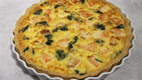 cuisiner epinard en boite recette de quiche au saumon frais et aux épinards par