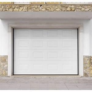 porte de garage sectionnelle artens h200 x l300 cm With porte de garage 300 x 215