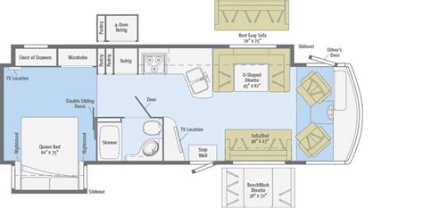 Adventurer  Floorplans  Winnebago Rvs