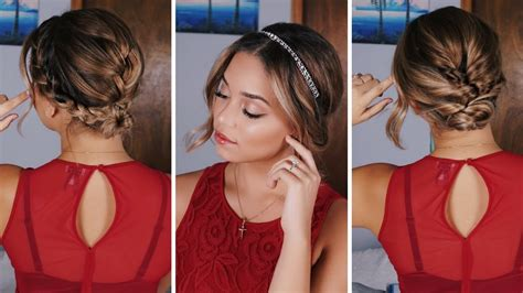 simple holiday hairstyles  shortmedium length hair