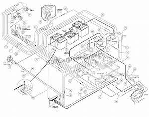 Club Car 48 Volt Wiring Diagram Throughout Club Car Wiring