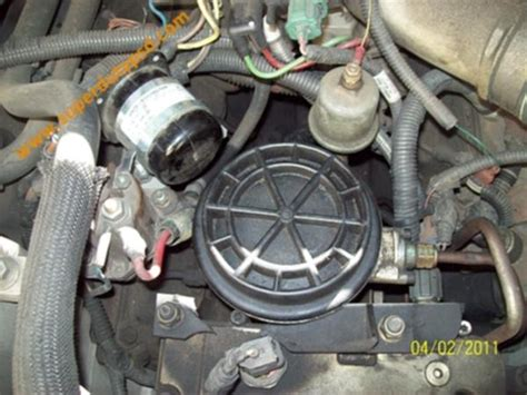 Ford 7 3 Turbo Diesel Fuel Filter Location by Ford E350 Fuel Filter Seal Leak