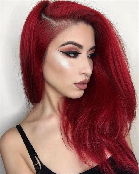 Pin By Wifey G On Fresh Ta Deff V Pinterest Hair Red