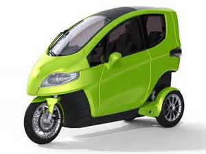 Electric 3 Wheeled Motorcycle Cars
