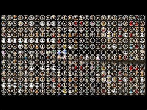 lego star wars  complete saga  characters