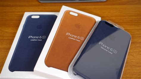 iphone 7 leather original apple iphone 6s 6s leather and silicone review