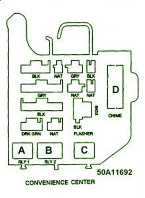 proa fuse box chevy truck  convenience center  diagram