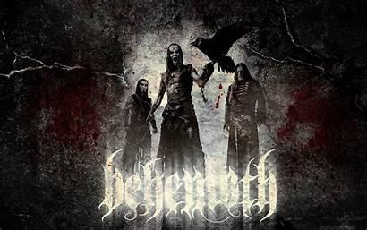 Behemoth Death Band Metal Wallpapers Brutal Bands