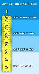 Drive Age Chart Cello Sizing