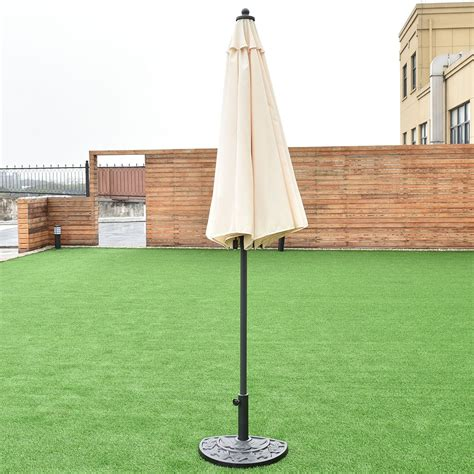 8 2ft height adjustable outdoor patio umbrella outdoor