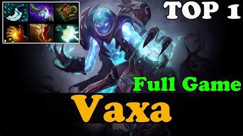 dota  vaxa top  arc warden dotabuff  win rate full game ranked gameplay youtube