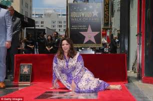 Melissa Mccarthy Is Honoured On The Hollywood Walk Of Fame