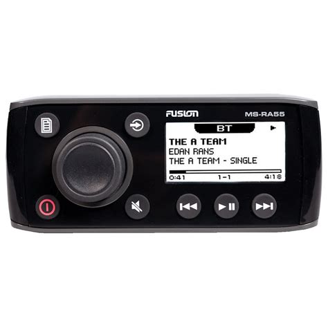 Fusion Boat Radio Bluetooth by Fusion Ms Ra55 Compact Marine Stereo W Bluetooth Audio